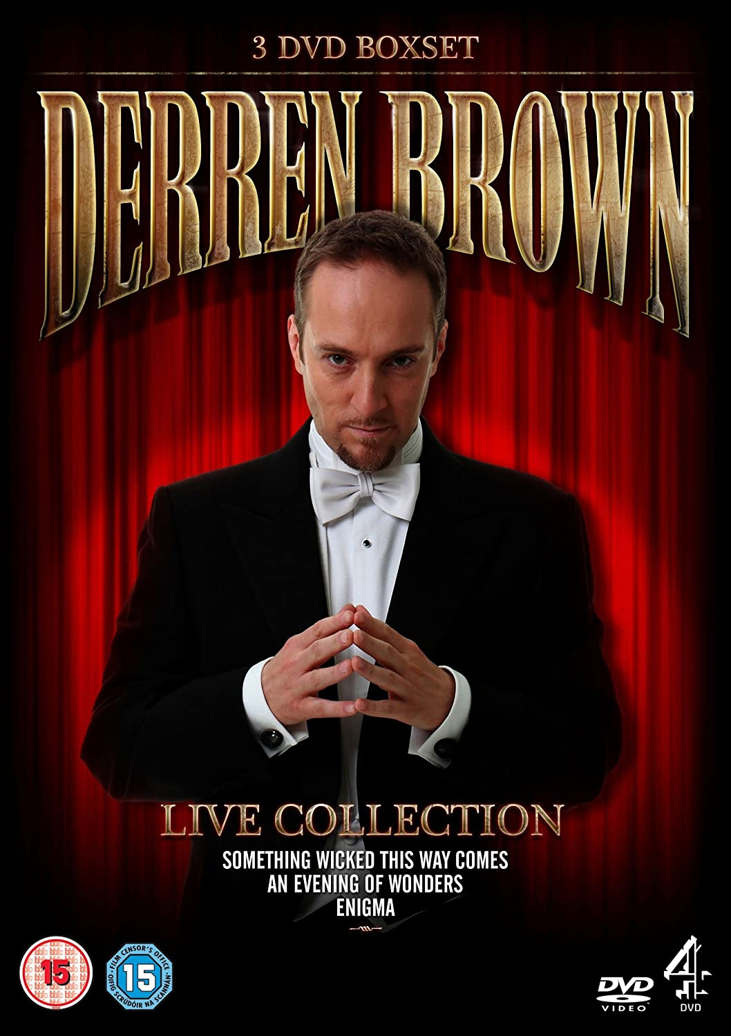Photo enigma platinum collection full image - Derren Brown Live Collection Dvd Amazon Co Uk Andy Nyman Dvd Blu Ray