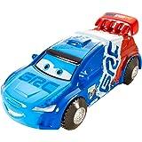 Disney Pixar Cars Stunt Racers Raoul Caroule, Multicolor