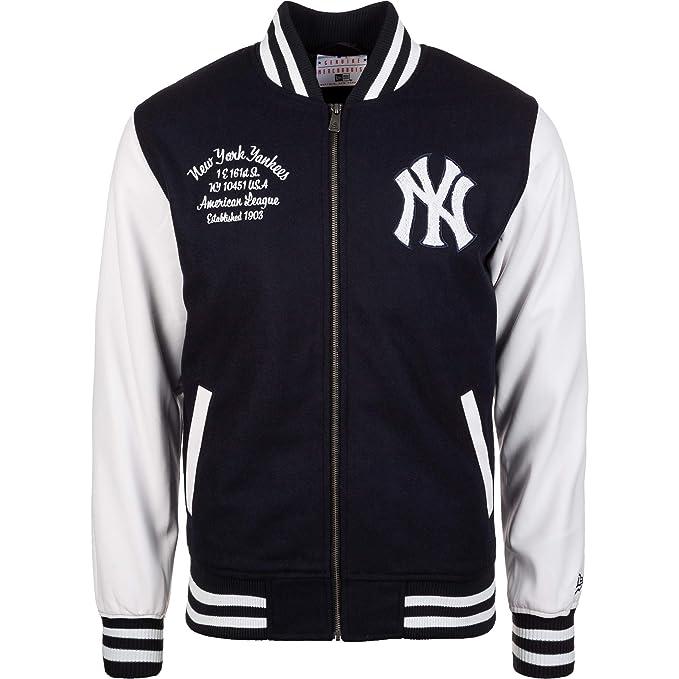 A NEW ERA Era York Yankees Post Grad Pack College Varsity Jacket MLB: Amazon.es: Ropa y accesorios