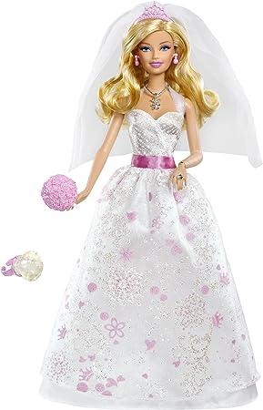 Mattel x1170 - Barbie en Robe de Mariée (
