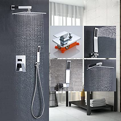 Votamuta Bathroom Single Handle Shower Faucet Trim Valve Body Hand