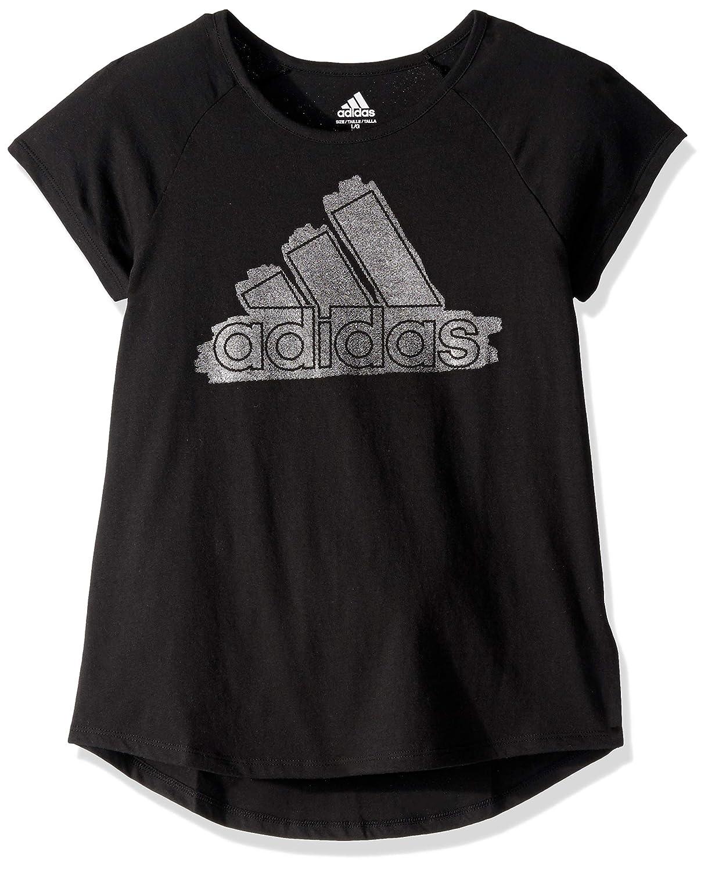 b916d58b Adidas Girls Short Sleeve Graphic Tee Shirts T-Shirt: Amazon.ca ...