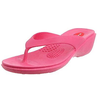 a93a18dbd6b562 Okabashi Women s Splash Flip Flops - Sandals (Small   5-6 B(M