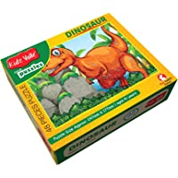 Kidz Valle Dinosaur 48 Pieces Tiling Puzzles (Jigsaw Puzzles, Puzzles for Kids, Floor Puzzles) Puzzles for Kids Age 4 Years and Above