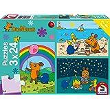 Schmidt Spiele Puzzle 56212 - Die Maus Gute Freunde, 3 x 24 Teile