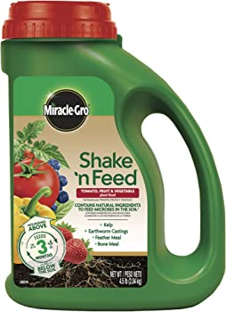Miracle-Gro Natural Micronutrients Calcium Improve Fertilizer For Tomatoes And Peppers