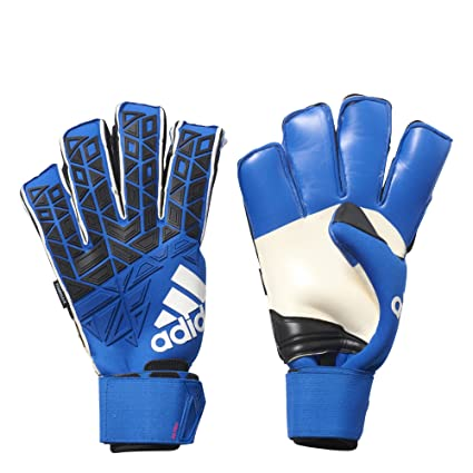 new style 7dfac 08321 adidas Ace Trans Fingersave Pro Goalkeeper Gloves Blue Black 9