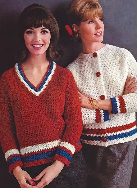 Amazon Vintage Crochet Patterninstructions To Make 4