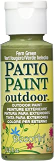 product image for DecoArt Patio Paint, 2-Ounce, Fern Green