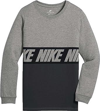 Nike Herren Relaxed T Shirt, Relaxed, Grau Small: