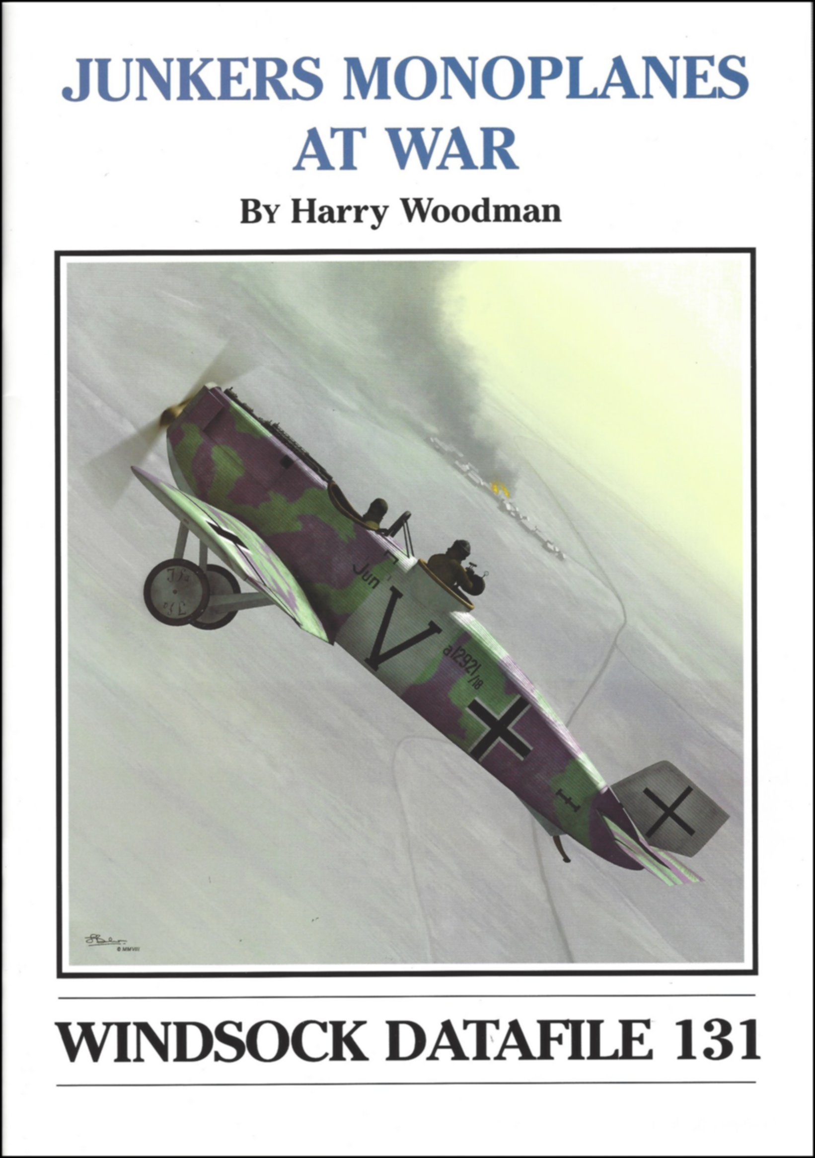 Download Windsock Datafile No. 131 - Junkers Monoplanes at War pdf epub