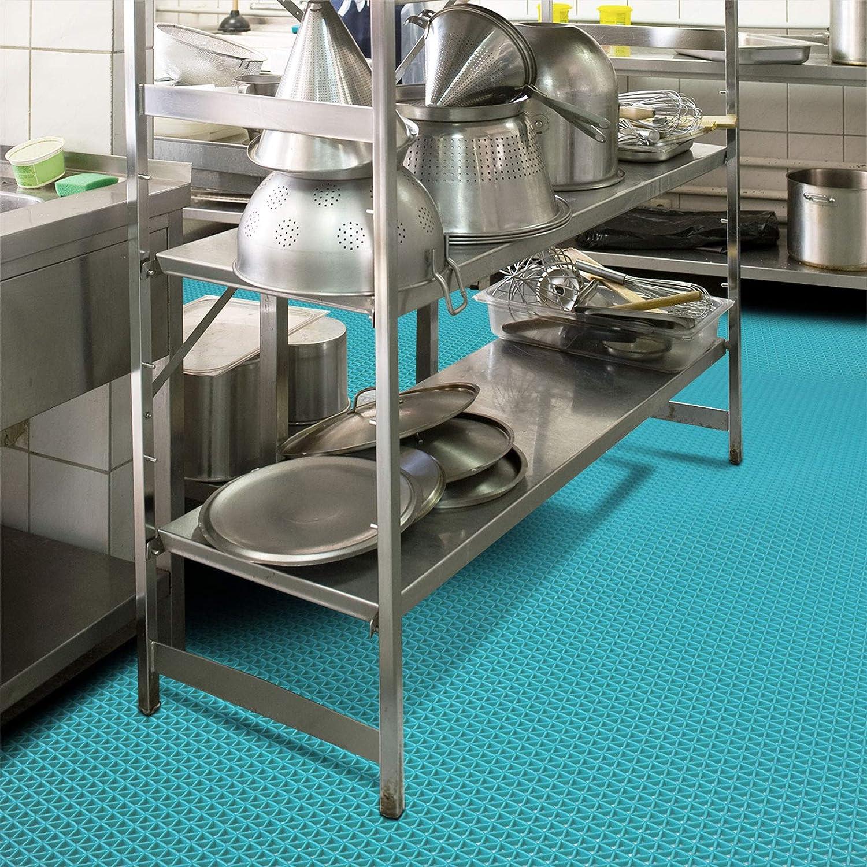 stark rutschhemmend Hygienematte Z-Mat f/ür Nassbereiche und Arbeitspl/ätze 120x400 cm Gr/ün viele Gr/ö/ßen