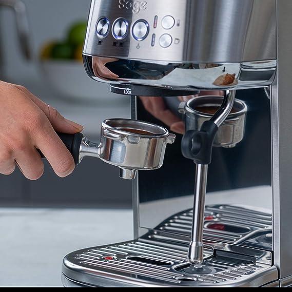 SAGE SES500BSS the Bambino Plus, Cafetera espresso, Cappuccinatore ...