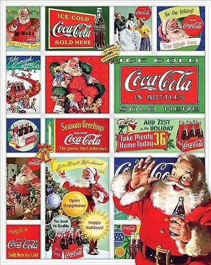 Springbok Puzzles Santas Coca-Cola Christmas Jigsaw Puzzle (1500 Piece)