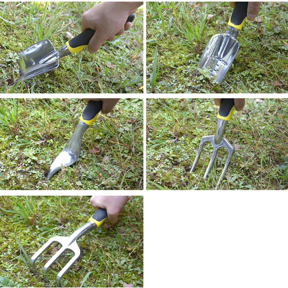 Juego de herramientas de jardinería de 5 piezas, Jardín de hierbas ...