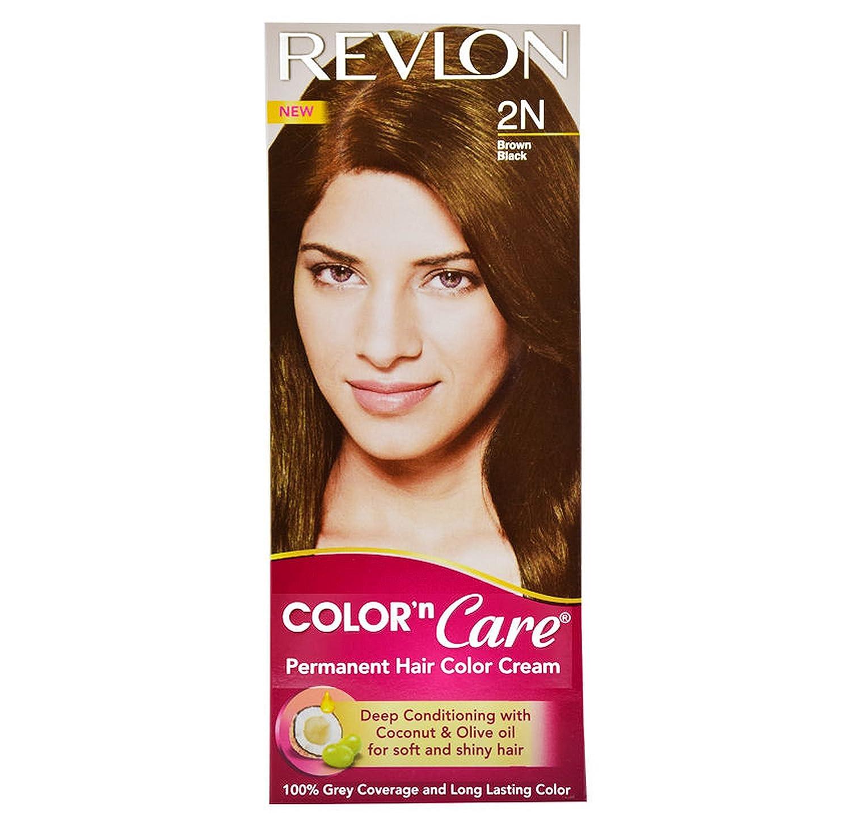 Buy Revlon Color N Care Permanent Hair Color Cream Brown Black 2n