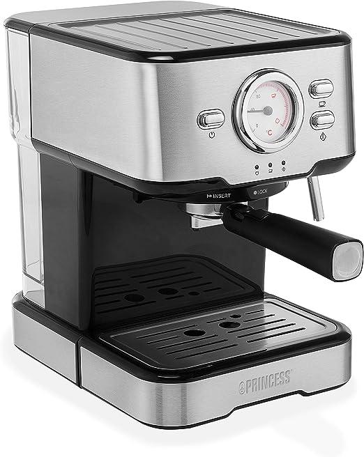 Princess 249412 Máquina de café Espresso italiano, cafetera ...