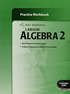 Amazon holt mcdougal larson algebra 2 teachers edition holt mcdougal larson algebra 2 practice workbook fandeluxe Choice Image