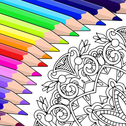 Colorfy: Free Coloring Book for Adults - Best Coloring Apps by Fun Games For Free (Most Addictive Puzzle Game)