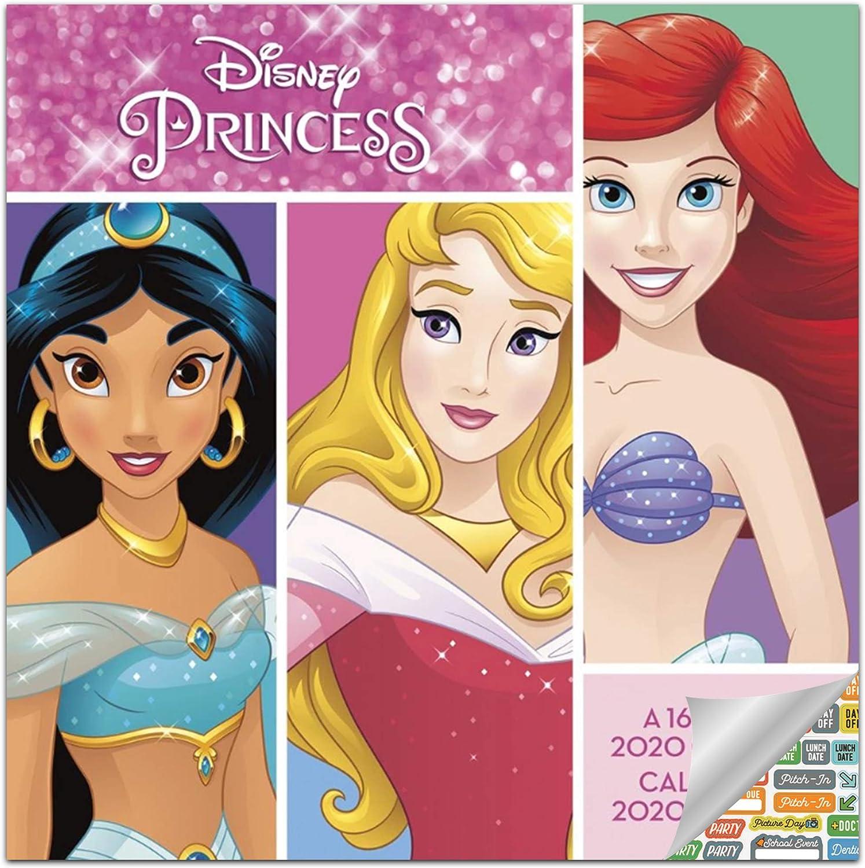 Disney Princess Calendario 2020 Set - Deluxe 2020 Disney ...