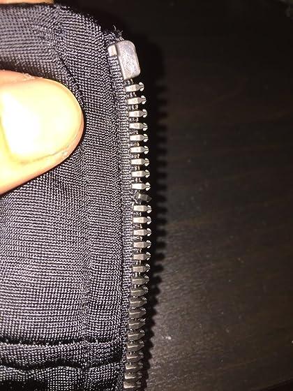 adidas Men's Essentials 3-Stripe Tricot Track Jacket Zipper broke off and dented teeth