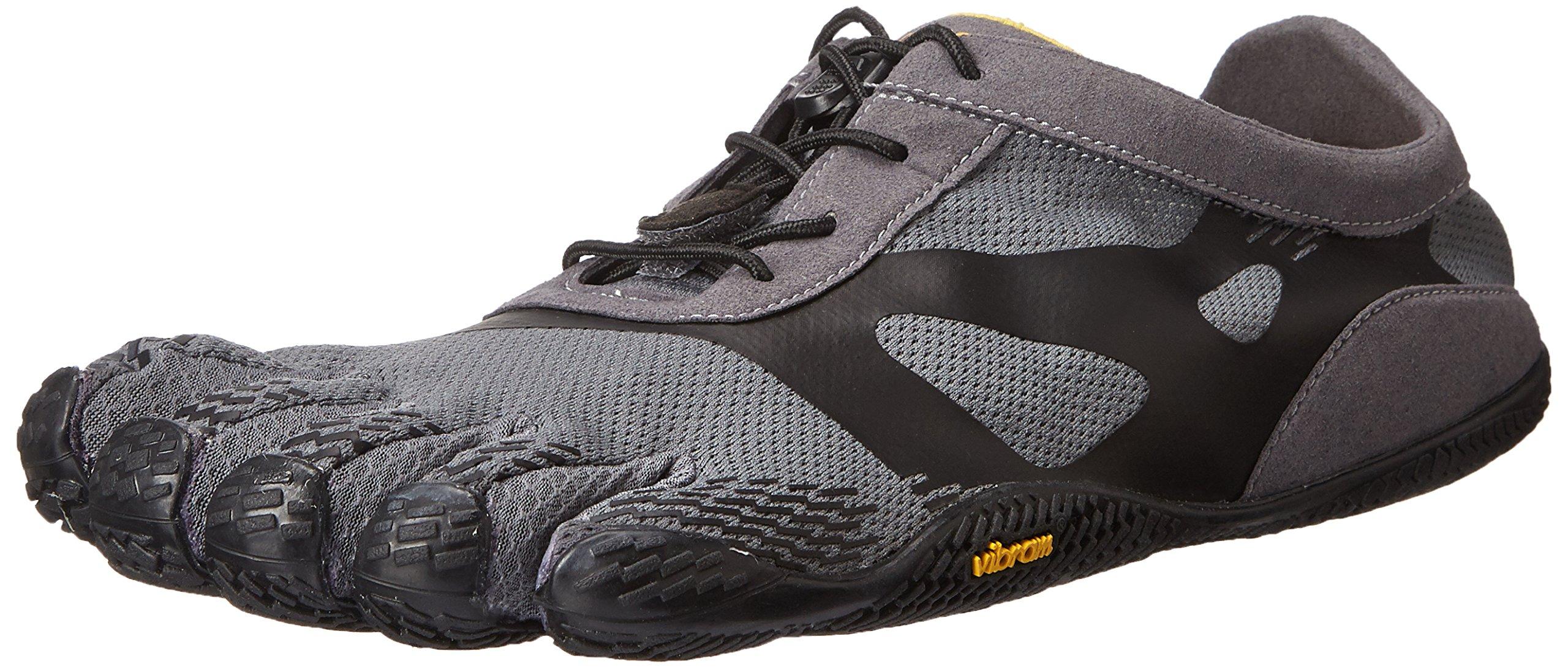 Vibram Men's KSO EVO Cross Training Shoe,Grey/Black,40 EU/8.0-8.5 M US
