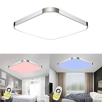 MCTECH 36W RGB Deckenleuchte Modern Deckenlampe Flur Wohnzimmer Lampe Schlafzimmer