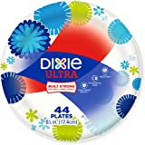 Dixie Ultra Paper Plates, 6 7/8 Inch Plates, 176 Count (4 Packs of 44 Plates)