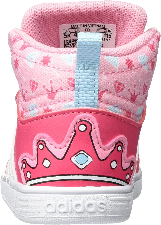 adidas Hoops CMF Mid Sneakers Basses Mixte b/éb/é