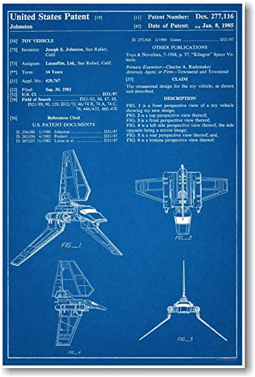 Star Wars Imperial Shuttle Patent