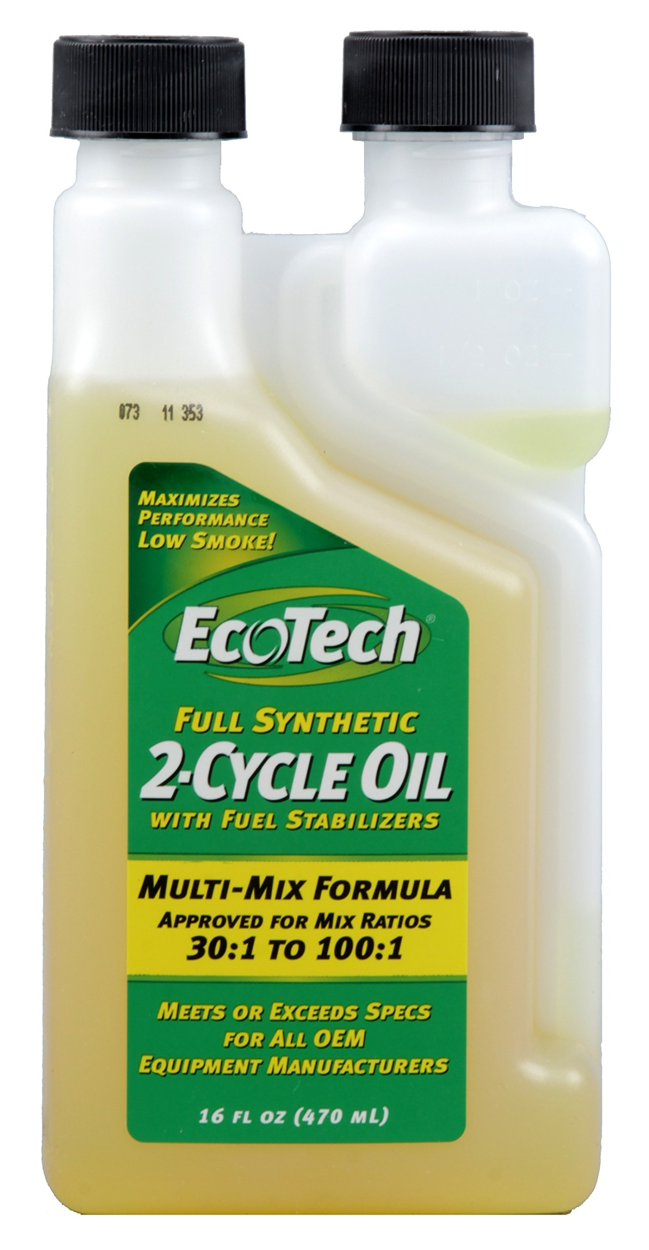 EcoTech Full Synthetic 2-Cycle Oil, 16-Ounce by EcoTech