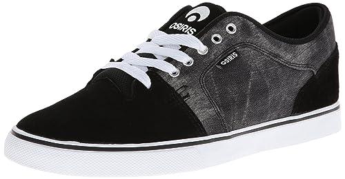 b85f93666c Osiris Shoes Mens Decay Skateboarding Shoes 1226-2155 Black Cream White 7 UK