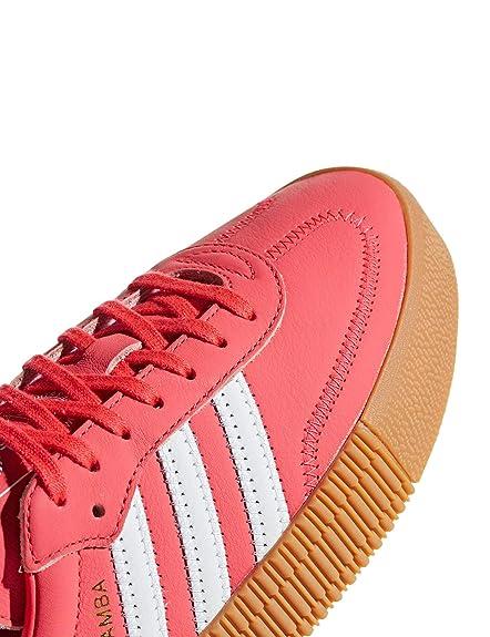 Adidas SambaRosa W Shock rot Weiß Gum 39  Amazon   Schuhe ... Elegantes und festes Menü
