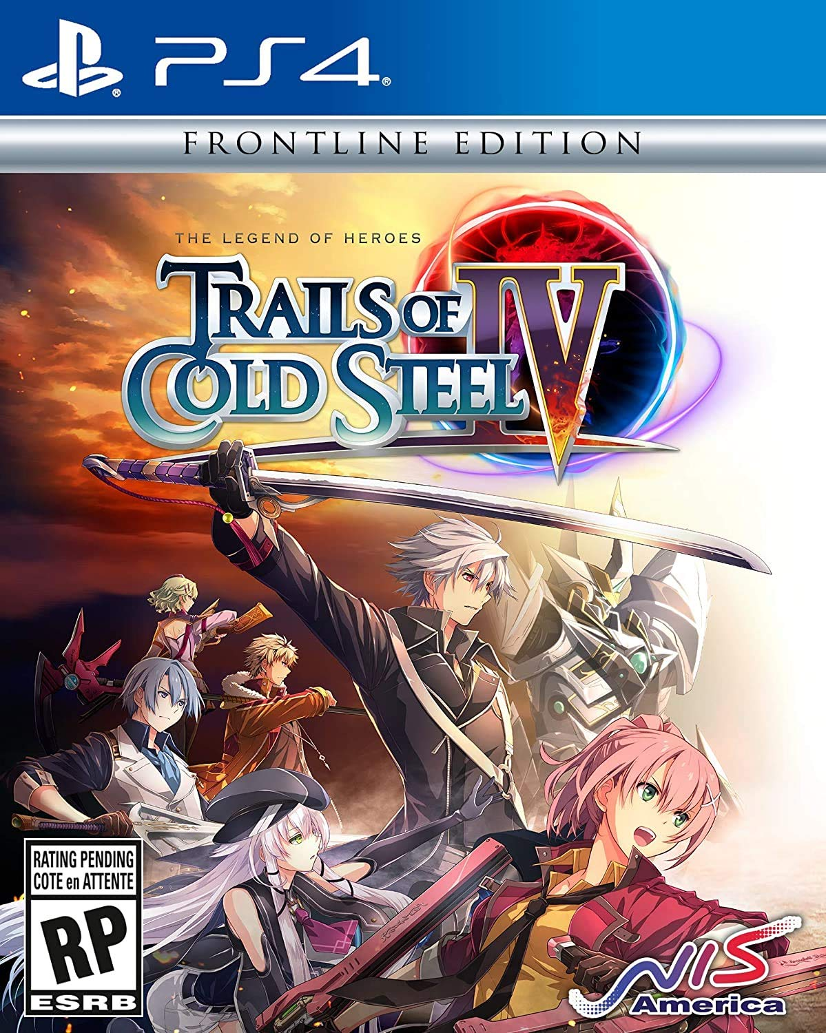 The Legend of Heroes: Trails of Cold Steel IV ps4