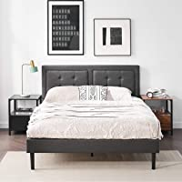 Vecelo Upholstered Platform Bed Frame Deals