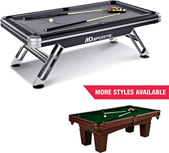 MD Sports Billiard Table Set - Available in Multiple Styles