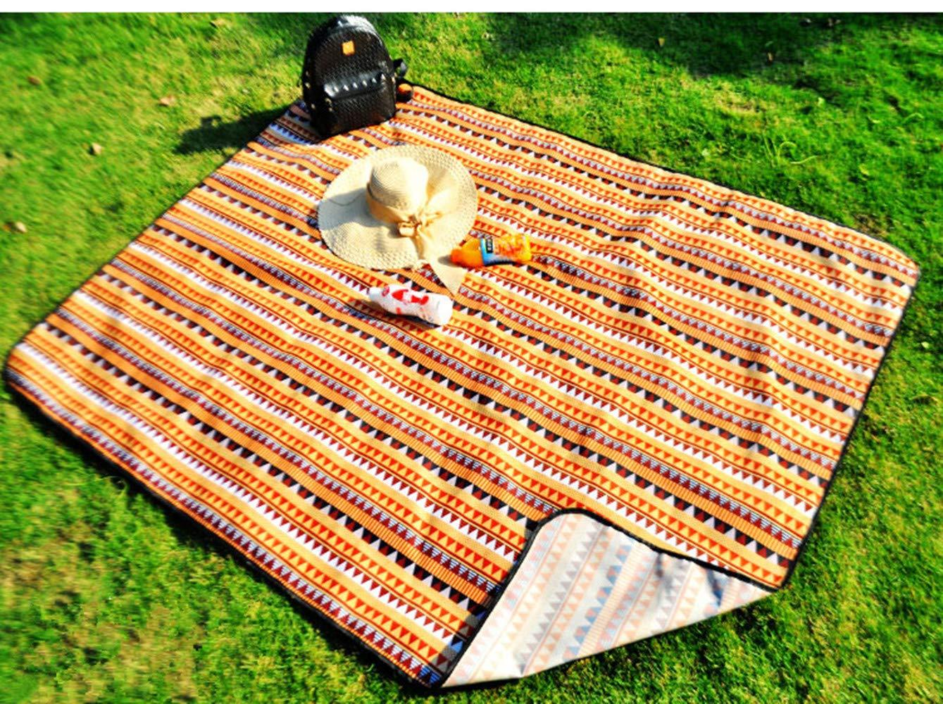 Zhbotaolang Camping Picknickdecke Draussen Strand Strand Strand Ultra Leichtgewicht Wasserdicht Familientag Aktivitäten Teppich AF L B07MFJWFFY Picknickdecken Elegant 68e477