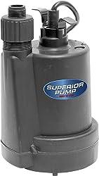 Superior Pump 91250 1/4 HP Utility Pump