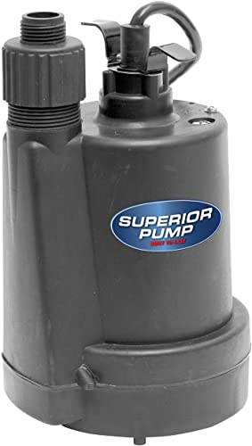 Superior-Pump-91250-1/4-HP-Thermoplastic-Utility-Pump