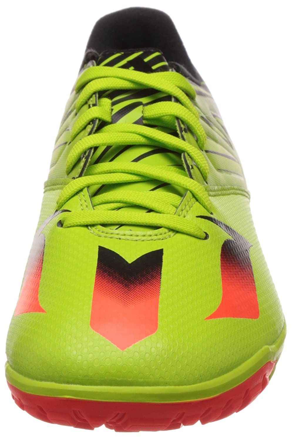 Amazon.com | adidas Messi 15.3 Turf Mens Football Shoes Green S74696 | Soccer