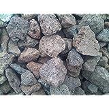 10 kg Lava Steine 16-32 mm - Gasgrill Elektrogrill Lavastein Lavasteine Kies Kiesel Aquarium - LIEFERUNG KOSTENLOS