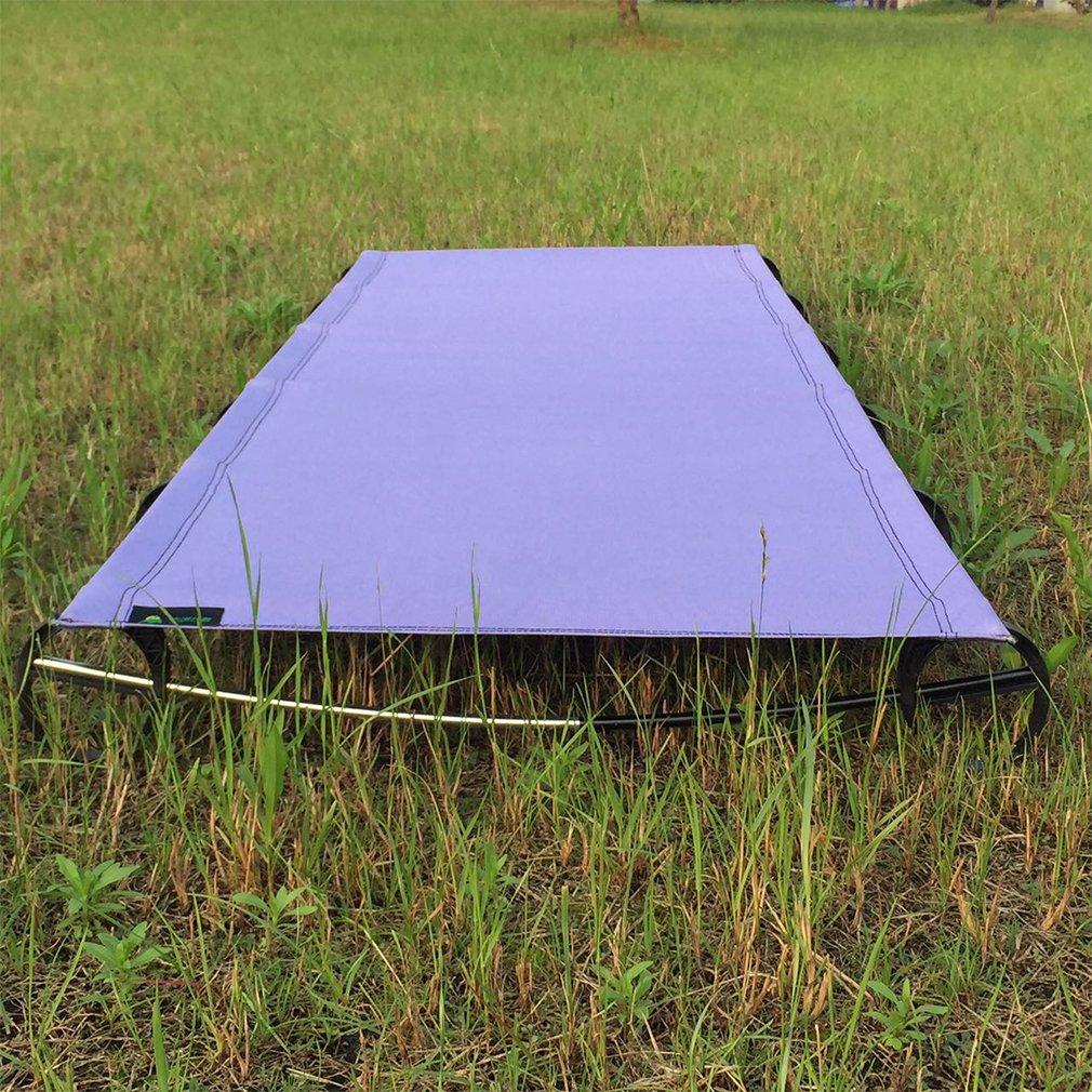 OUTAD Cama Plegable y Ultraligero de Camping,Aleación de Aluminio ...