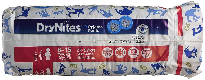 Huggies DryNites Boy 8–15yrs, 1er Pack (1x 9pièces) 5029053527598