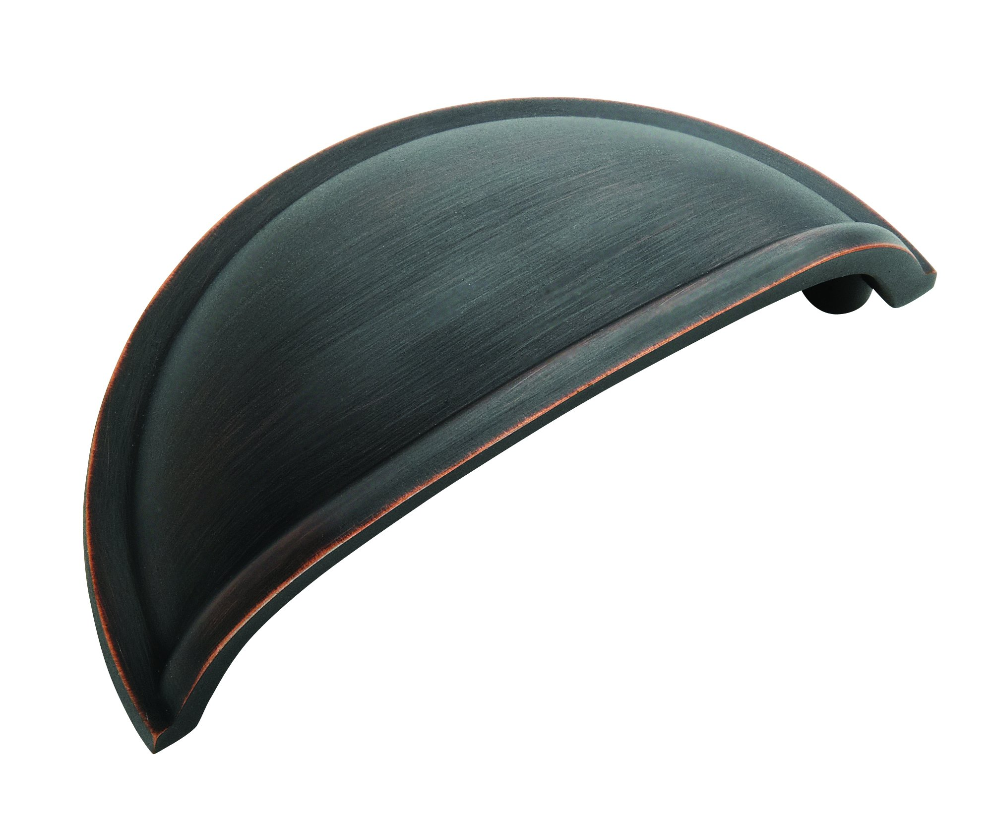Cup Pulls 3 in (76 mm) Center-to-Center Oil-Rubbed Bronze Cabinet Cup Pull - 5 Pack - 5BX53010ORB