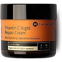 Eve Hansen Vitamin C Night Cream - Anti Aging Face Cream, Neck Cream, Vitamin C Cream, Vitamin E Cream - Natural Face…
