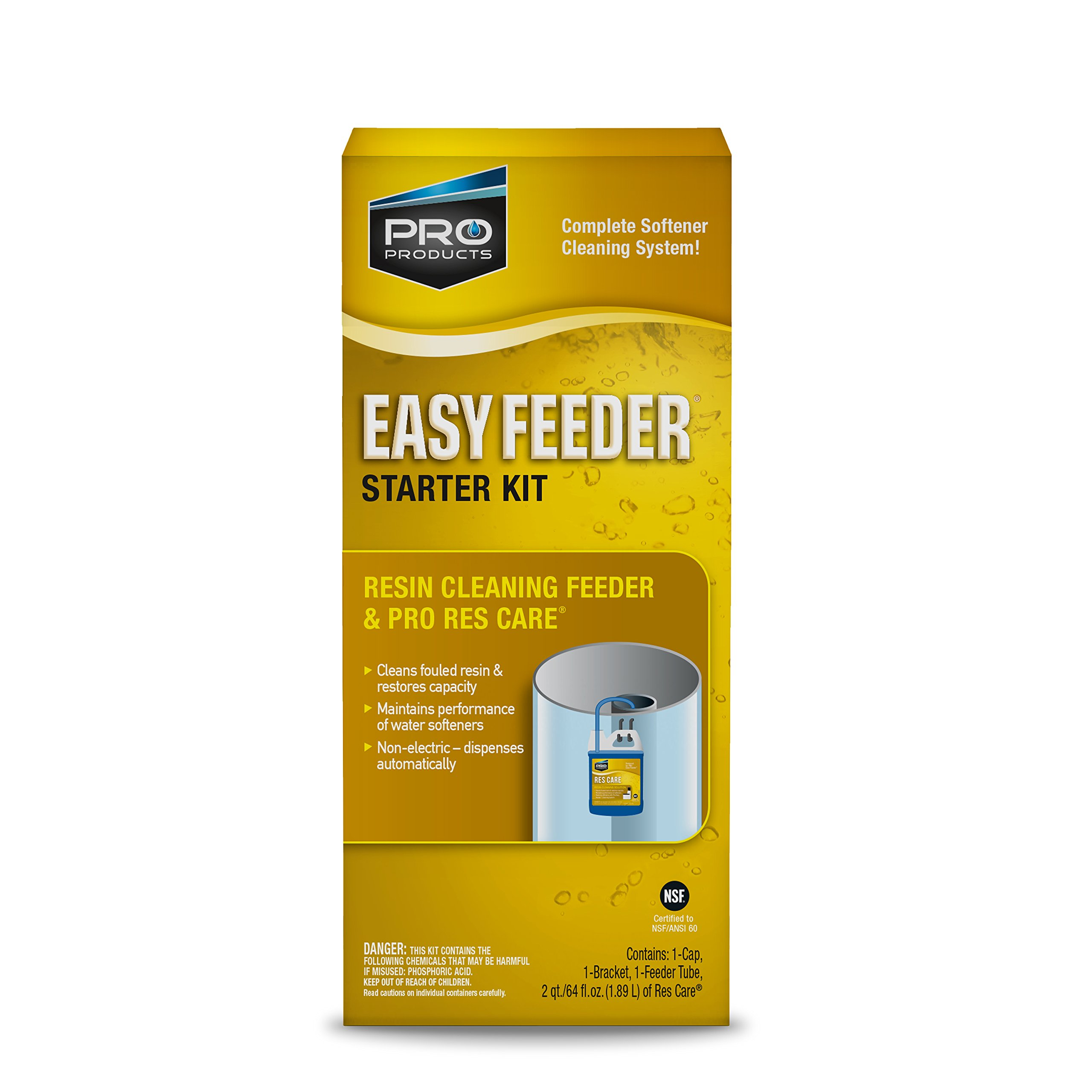 Pro Products RK11K1 ResCare Easy Feeder Starter Kit Maintains Performance and Extends Life of Water Softener by Pro Products