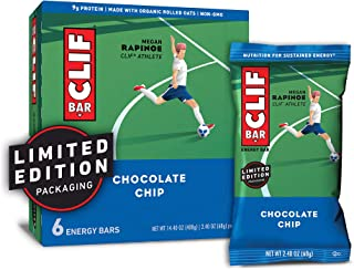 product image for CLIF BAR - Energy Bars - Chocolate Chip - (2.4 Ounce Protein Bars, 6 Count) (Packaging May Vary)