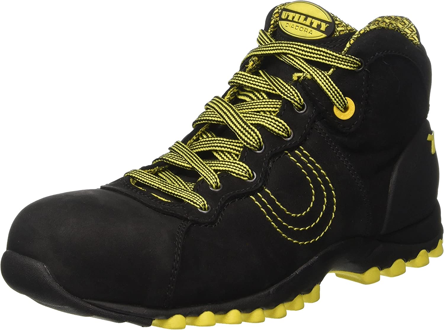 Diadora Match Hi-Beat S3 HRO Mens Safety Boots Black