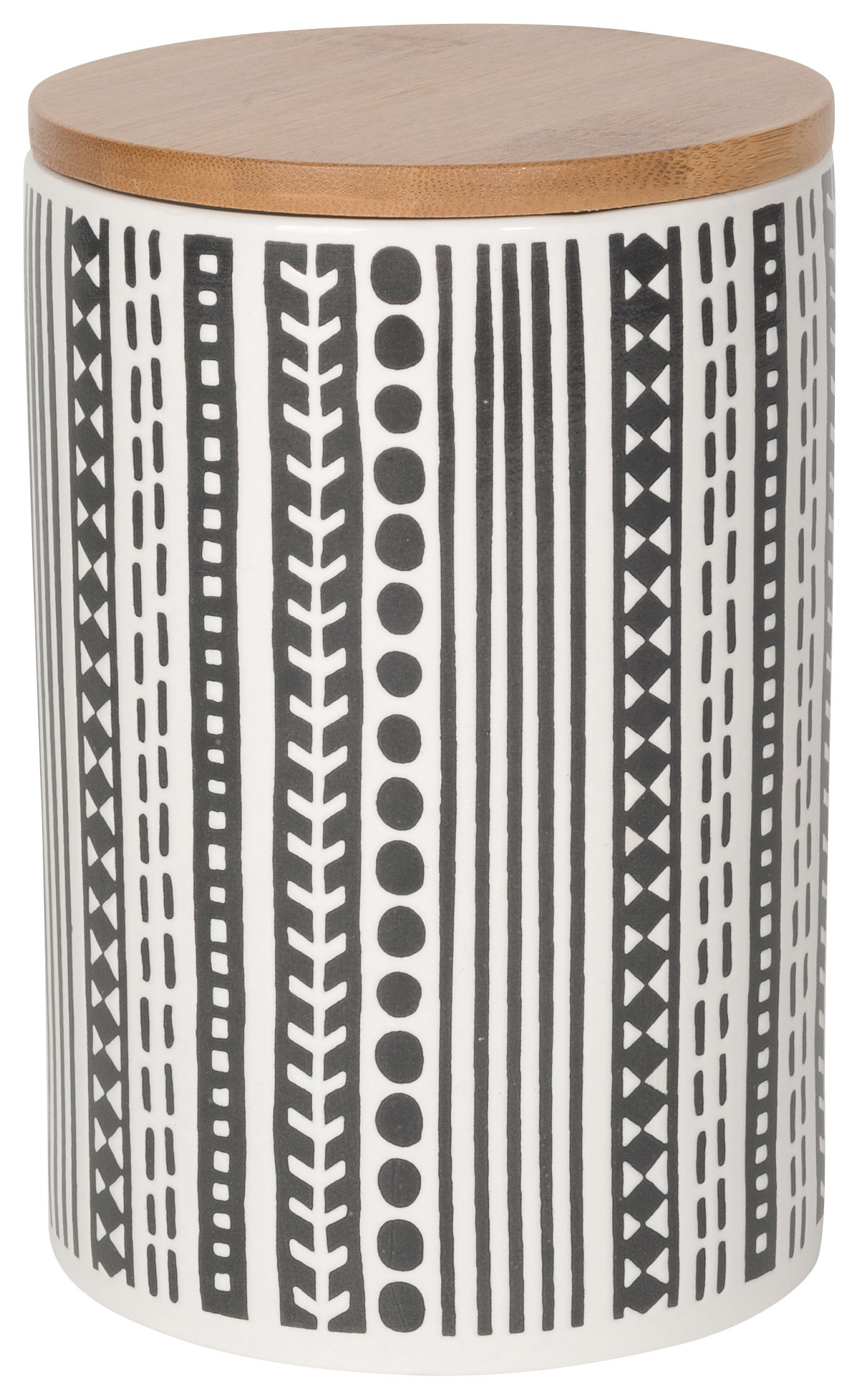 Now Designs Embossed Storage Canister, Large, Canyon Design