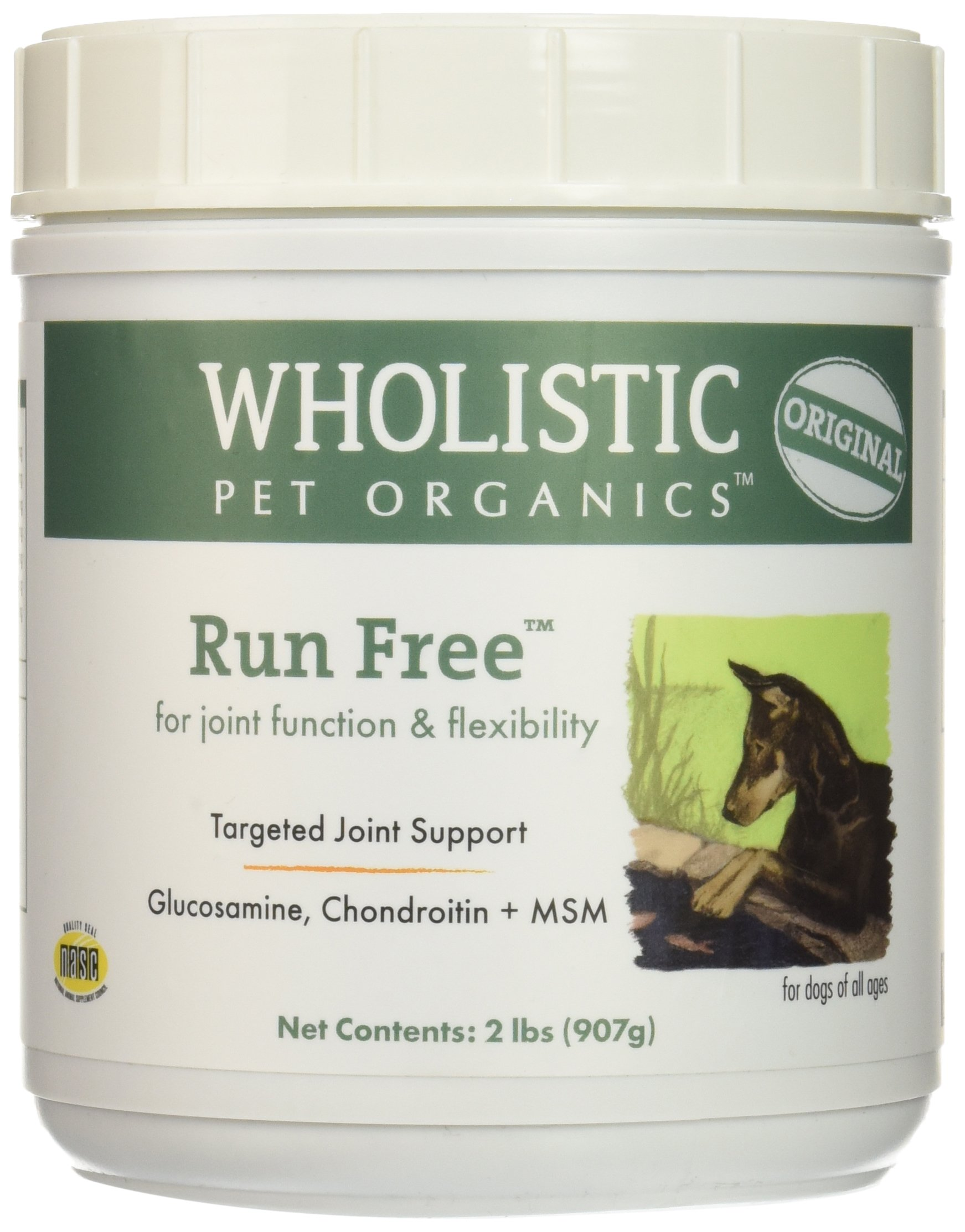 Wholistic Pet Organics Run Free Supplement, 2 lb